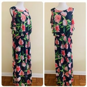 994d69312b39 Eliza J. Eliza J Plus Size 22W Cold Shoulder Maxi Dress